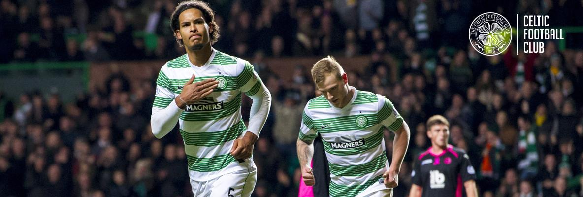 Van Dijk strike enough to seal derby win for Bhoys