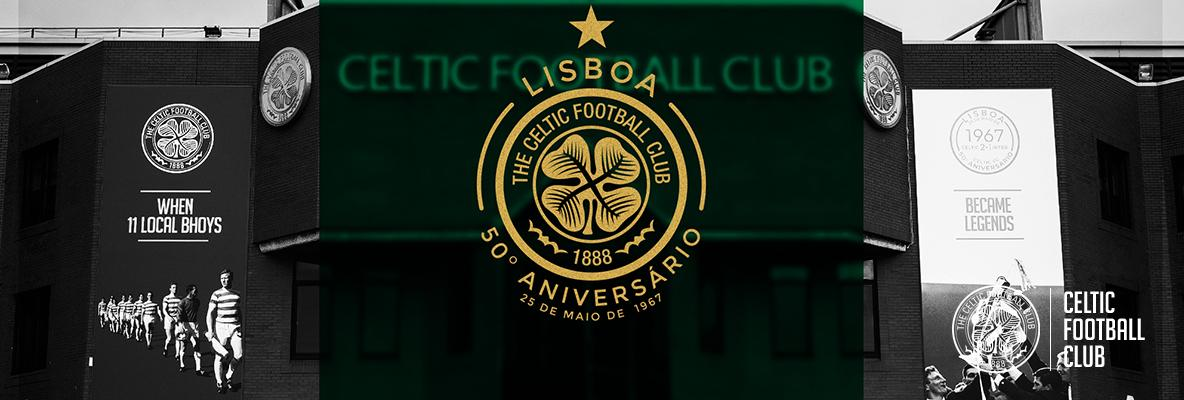 Introducing the New Celtic FC Lisbon Commemorative Kit Crest