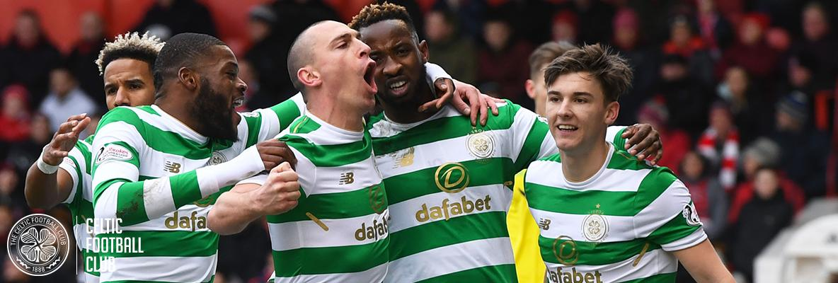Celtic extend lead at the top with 2-0 win over Aberdeen