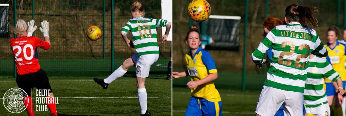 Celtic Women move on in League Cup with win over Saints