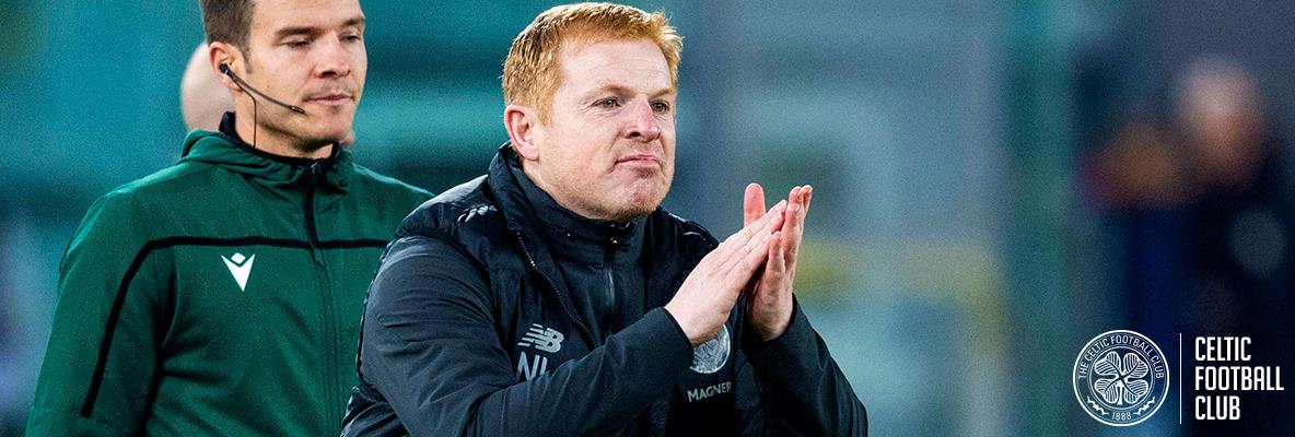 Neil Lennon hails history Bhoys after they complete the Italian job