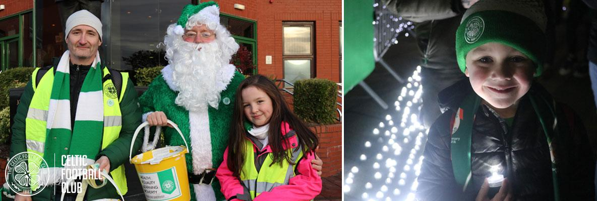 Light Up the Clover and Bucket Collection for 2019 Christmas Appeal
