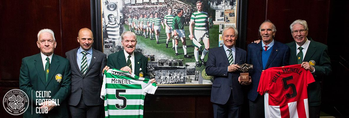 Athletic Club honour Billy McNeill for his devotion to Celtic