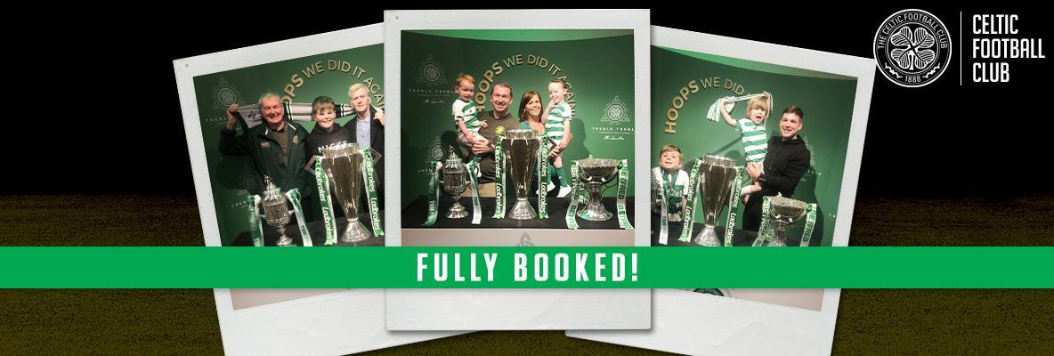 #Trebletreble celebrations at Celtic Park now fully booked
