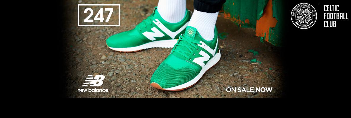 Celtic FC x NB 247 – Celebrate St Patrick's Day in green & white