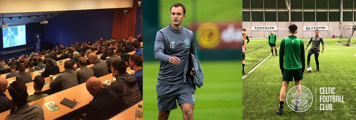 Chris Davies delivers Coach Education with Celtic Soccer Academy