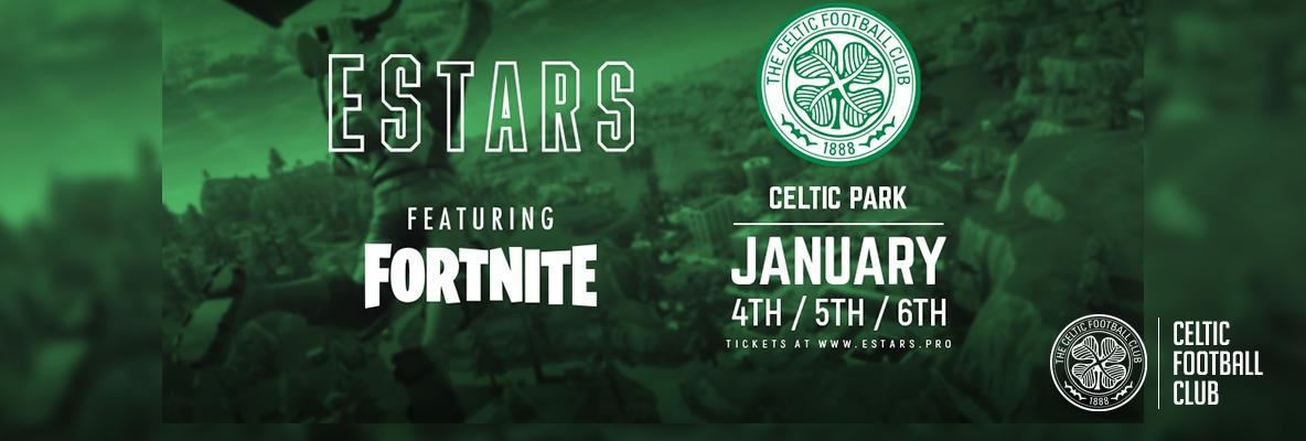 Celtic Park to host EStars featuring Fortnite tourney in January