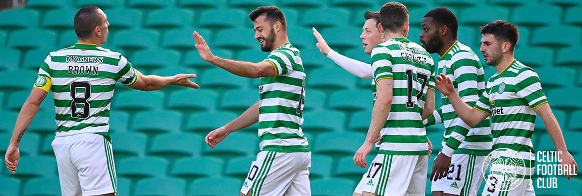 Celts back on top of the table with victory over Livingston