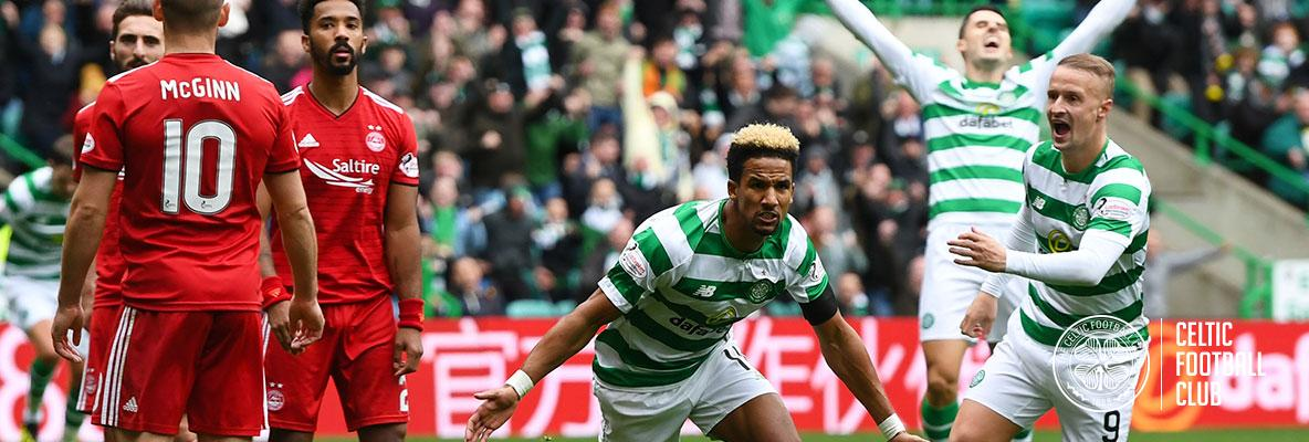 Sinclair's moment of magic gives Celts win over Aberdeen