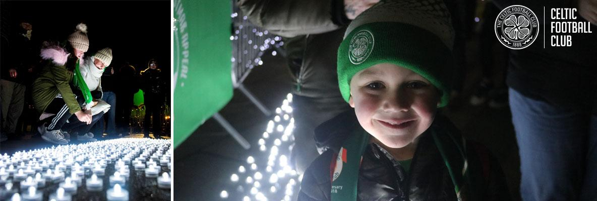 Light up the Clover in memory of a loved one this Christmas