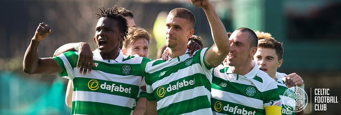 Celtic on the edge of title triumph after victory over Dundee