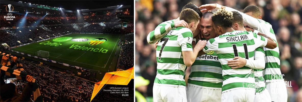 Get your official Celtic v Valencia match programme