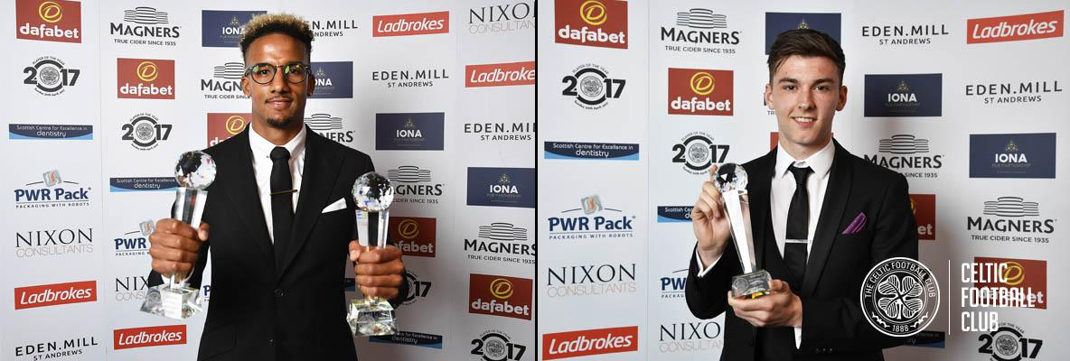 Scott Sinclair's double delight at club's Player of the Year awards