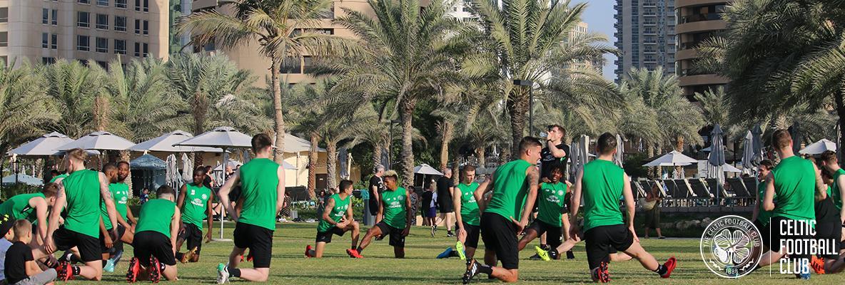 Scott Brown: Dubai training camp will be beneficial again
