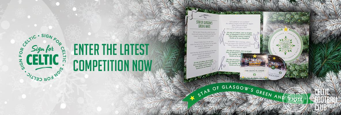 Win the Christmas charity single and signed song sheet