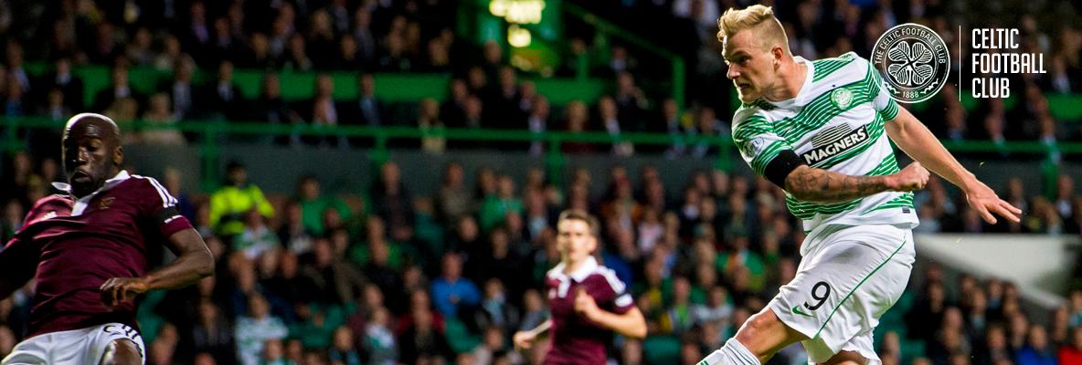 Celtic cruise into next round with victory over Hearts