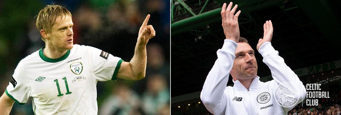 Damien Duff & Stephen McManus join Celtic's Academy coaching team