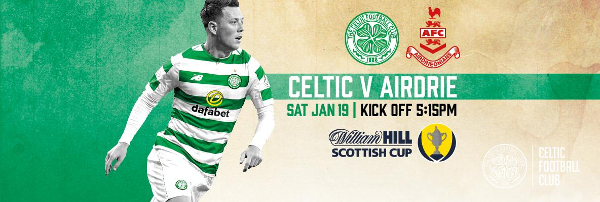 Ticket Office open from 12noon until kick-off for Celtic v Airdrie