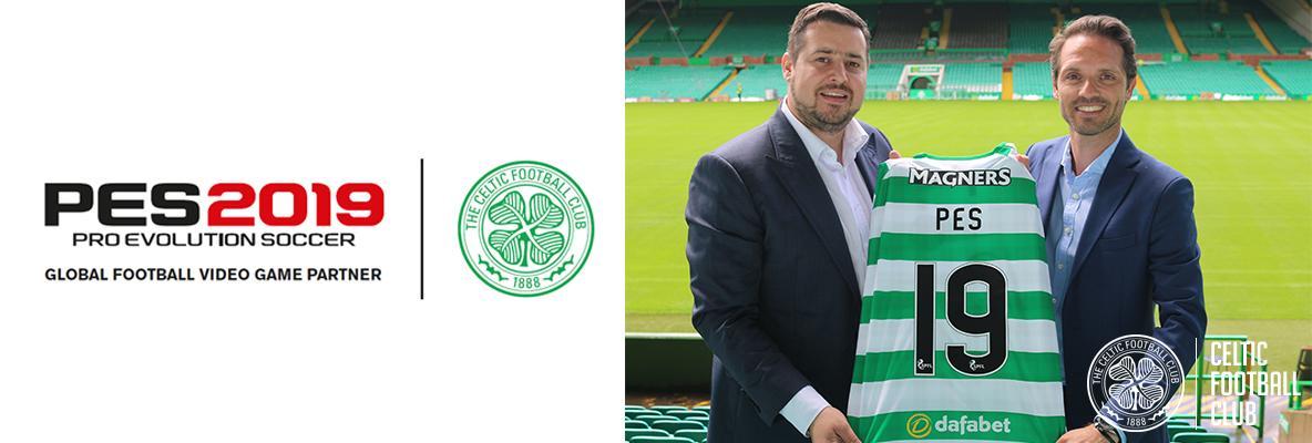 Celtic join PES 2019 partner club roster