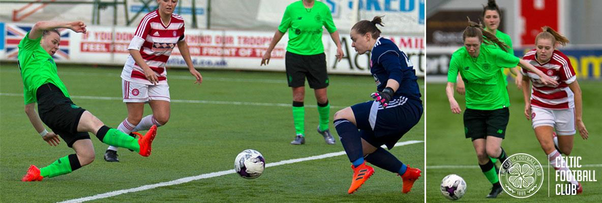 Celtic Women march on in League Cup