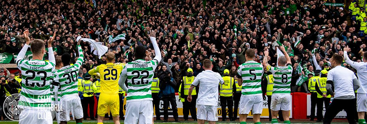 Peter Lawwell: Celtic Family can enjoy 8-in-a-row celebrations