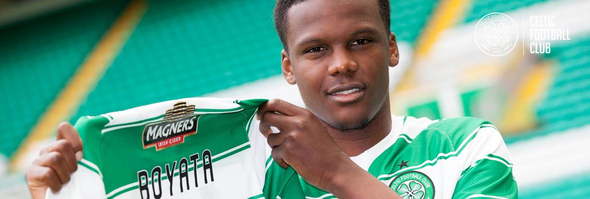 Celtic sign Dedryck Boyata on four-year deal