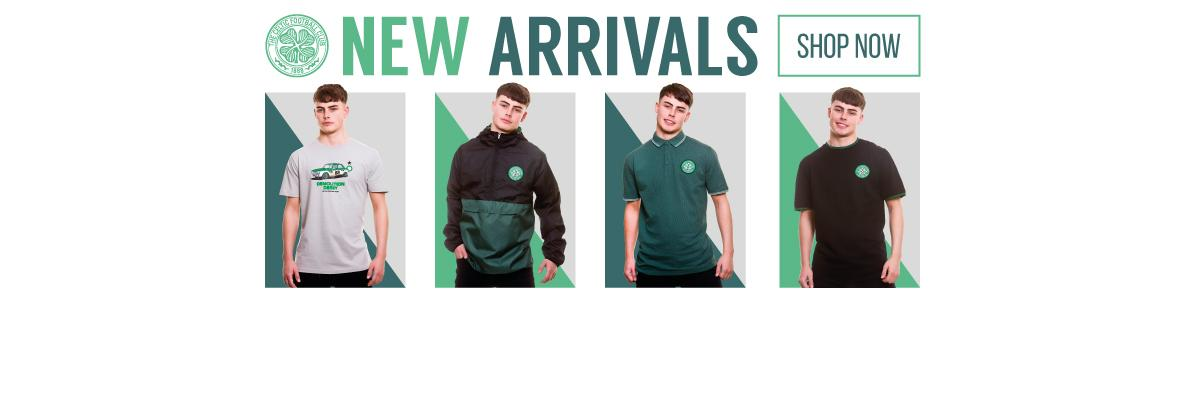 Put on the style with Celtic's new spring arrivals