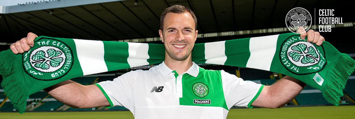 Chris Davies is ready for Celtic role