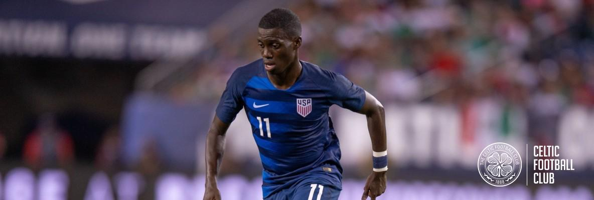 Timothy Weah: I'm so happy and excited to have joined Celtic