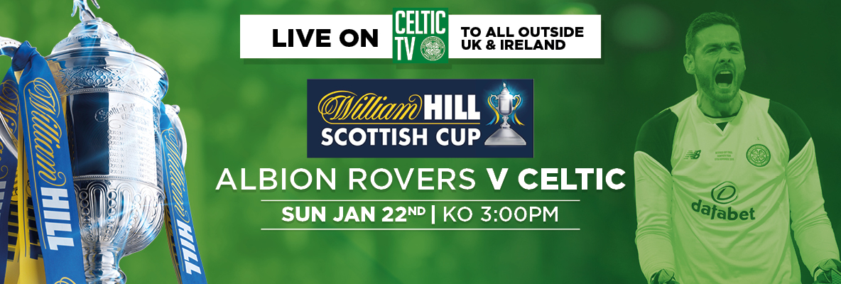 Tune in to Celtic TV to see the Celts in Scottish Cup action