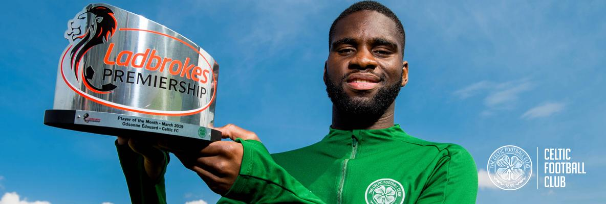 Odsonne Edouard is Premiership Player of the Month