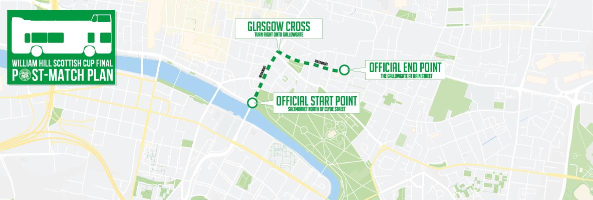 Celtic Football Club - bus procession