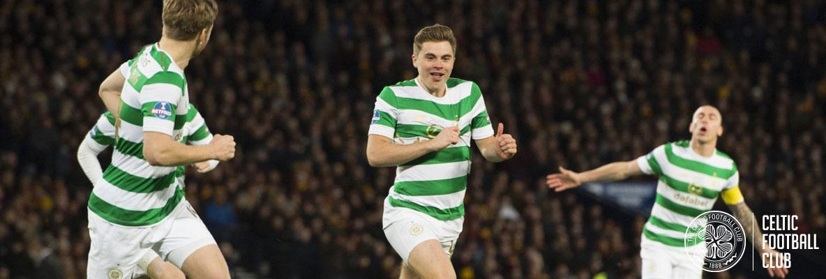 Forrest fires Celtic to League Cup final victory at Hampden