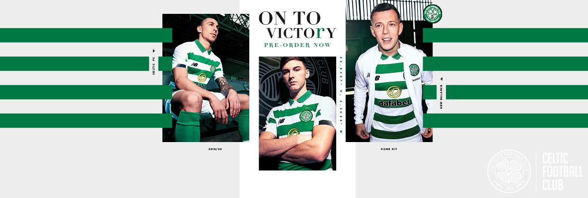 5829a356fcd New Balance reveals Celtic 2019 20 Home Kit - Celtic News Now