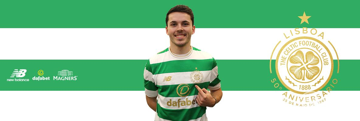 Delight as Lewis Morgan signs for Celtic