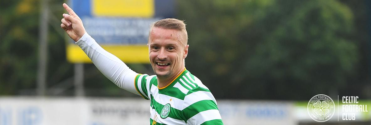 Leigh Griffiths: I'm just delighted to help the team win