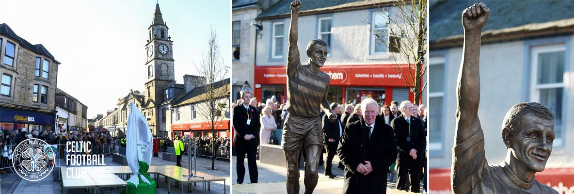 Bobby Lennox statue unveiled, a fitting tribute to a true great