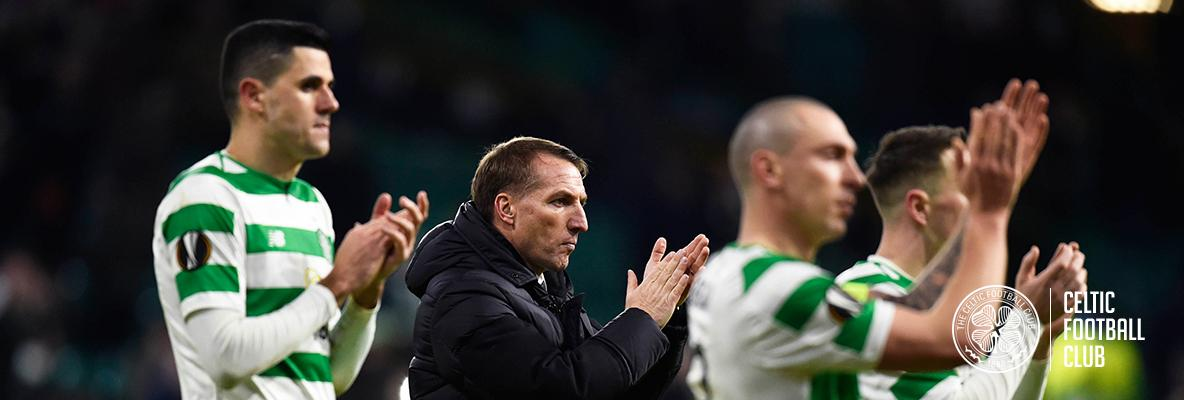 Brendan Rodgers: I'm so proud of players for reaching last 32