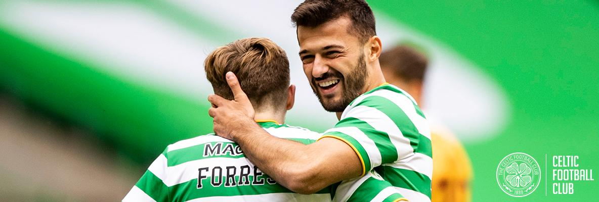 Ajeti delighted with his start to life as a Celt