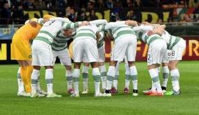 Battling Celts lose 1-0 to Inter Milan in the San Siro