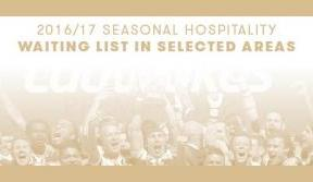 Only waiting list places in selected Seasonal Hospitality areas