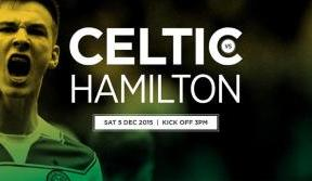 Back the Bhoys at home v Hamilton Accies  – tickets on sale now