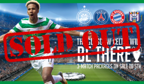 UCL three-match packages sold out