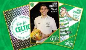 'Sign For Celtic' for chance to win a Ryan Christie signed ball