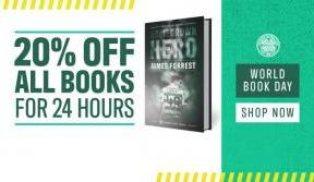 World book day: 20% off all books for 24 hours