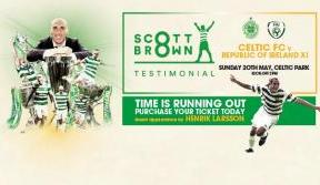Buy online and print tickets at home for Scott Brown's Testimonial