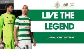 2017/18 home kit pays tribute to the Lisbon Lions