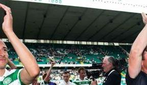 Henrik and Lubo's delight at Paradise return