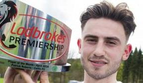 Patrick Roberts is the SPFL Player of the Month for April