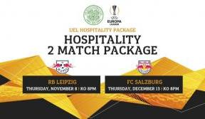 Enjoy Celtic Hospitality in the Europa League